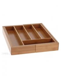 Caja de Bambu para cubiertos