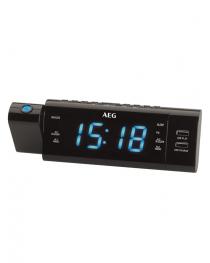 Radio Reloj con proyección